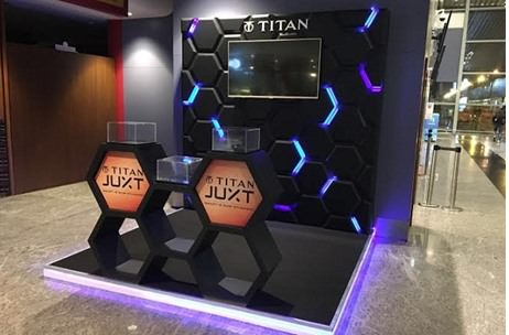 Kestone Activates Titan's First Smartwatch 'Juxt' at Delhi, Mumbai And Bangalore Airports