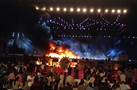 Fire Engulfs Maharashtra Evening Stage; All Audiences, On-Ground Teams Evacuated Safely