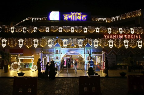 A Mumbai-Based Marketing Company Executes Mind-Boggling Décor for Navi Mumbai's Grandest Mall