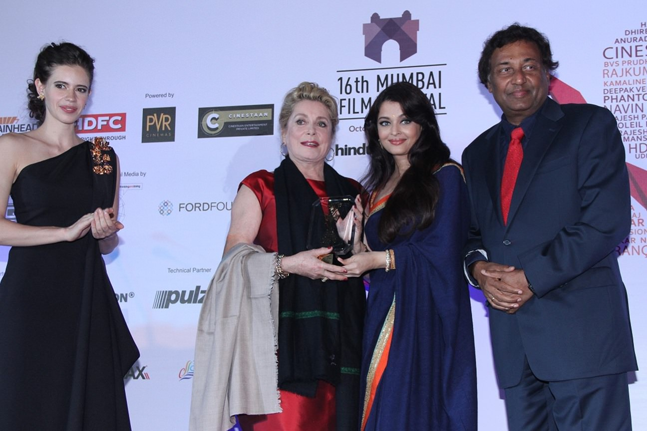 Helen graces the seven-day MAMI Film Festival in Mumbai