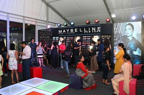 Vibgyor's Monochrome Lounge For Maybelline @ #AIFWAW16
