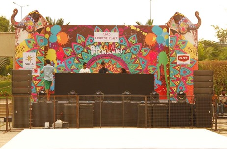 Executive Events Manages 'Balam Pichkari' Holi Party for Crowne Plaza Hotel