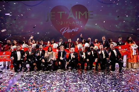 Oriflame Celebrates 50 Years at Directors' Seminar 2017; Managed by Fountainhead MKTG