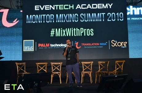 EvenTech Academy Curates its 1st Edition of Monitor Mixing Summit