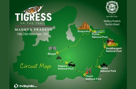 MP Tourism Board Flags Off All-Woman Bike Trip 'Tigress on the Trail' to Showcase the State
