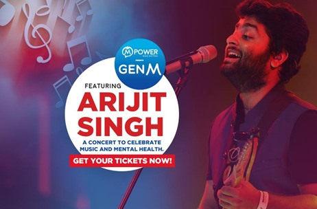 Mpower Set to Host GenM - Arijit Singh Music Concert in Mumbai