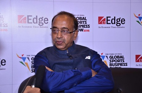 Sports Minister Vijay Goel Speaks at Times of India Global Sports Business Show 2016