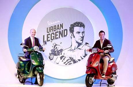 The Brand Brewery conceptualises and manages the launch campaign of Vespa India scooters