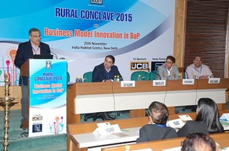 MART Rural Conclave 2015 Sponsored By JCB Concludes In New Delhi