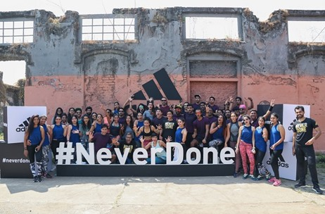 The New IP from Adidas India '#Neverdone' Launched by Toast Events in Mumbai