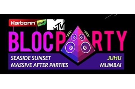 MTV Bloc Party freezes on Juhu in Mumbai as its venue