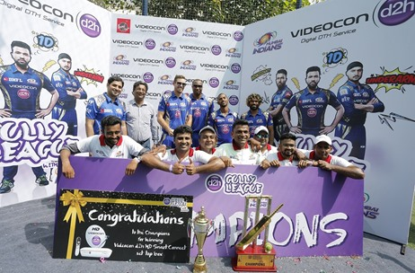 Videocon d2h Organises 'd2h Gully League with MI' in Mumbai to Encourage Young Talent