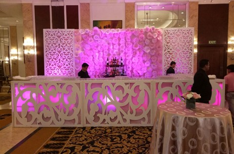 A Subtle English Engagement at Shangri La, New Delhi; Decor by Ambience