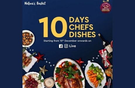 Nature's Basket Aims to Create Festive Fervour with a Gourmet Touch at 10-Day Christmas Cookathon