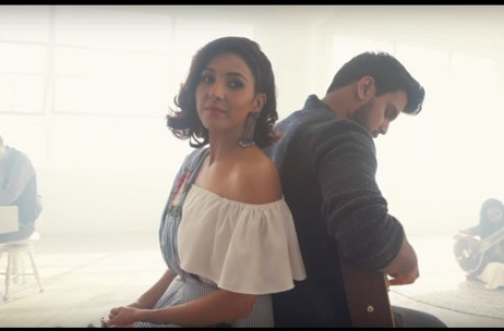 Neeti Mohan Collaborates with Kurt Schneider and Rushil for 'A sky full of stars' (by Coldplay)