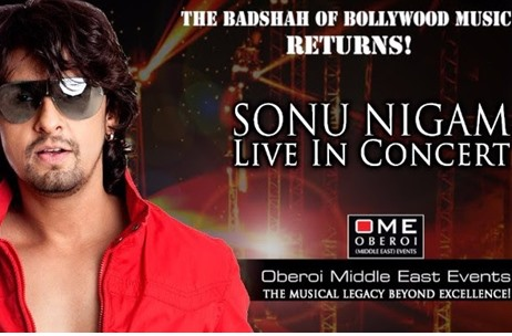 Oberoi Middle East Events Set to Present Sonu Nigam Live in Dubai this November
