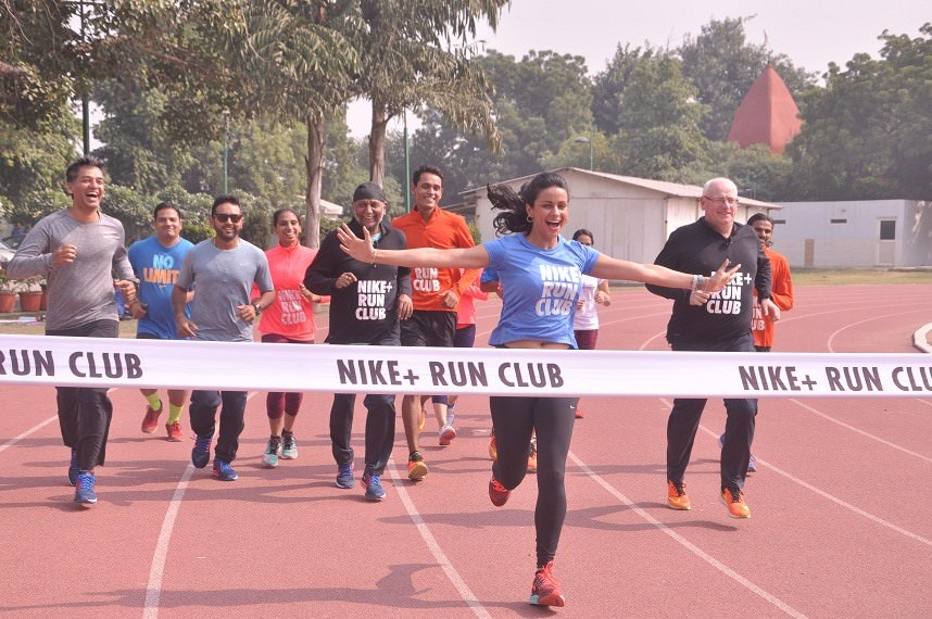 Nike+ Run Club launches in New Delhi with Gul Panag - India News & Updates  on EVENTFAQS