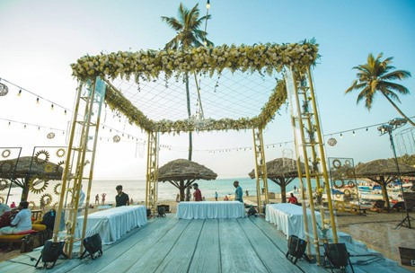 A Traditional, Yet Modern South Indian Wedding by The Doli Diary at The Leela Kovalam