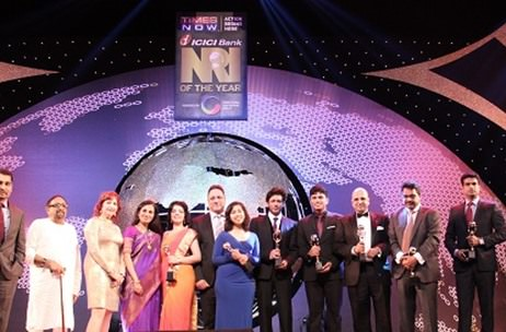 SRK felicitated at the 2nd edition of 'NRI of the Year' Awards