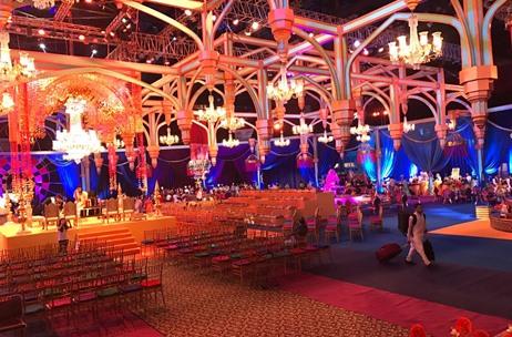 Popular Decorators Reveals a Spectacular Film of a Wedding Reception Designed By Sumant Jayakrishnan