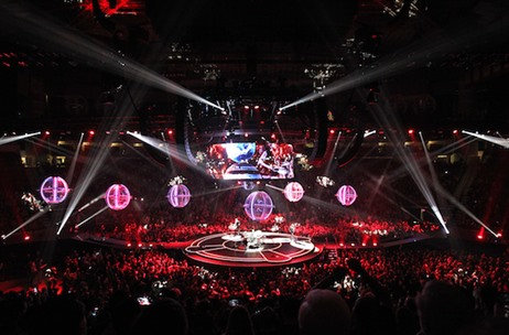 BlackTrax Interactive Tech Steals the Show at Muse Worldwide Arena Concerts