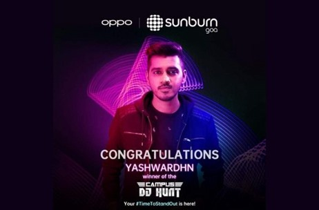 OPPO Supports Young EDM Artist Through OPPOxSunburn2019 Campus DJ Hunt