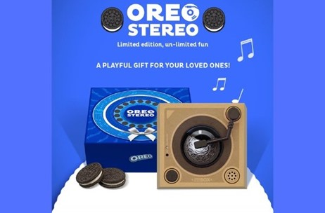 Mondelez India Brings Playful Twist To Oreo By Introducing Limited Edition Oreo Stereo Box