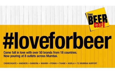Dentsu India Crafts #LoveForBeer Campaign For The Beer Café