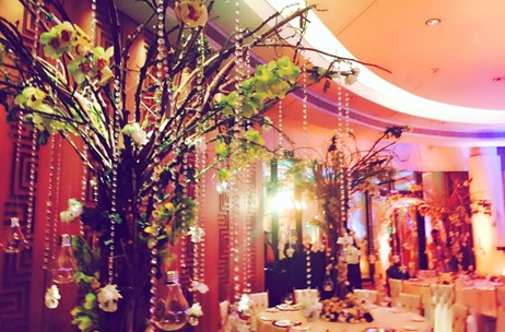 Maadhyam Events Creates an Elaborate Flora Garden at Oval Room - The Mansion, Hyatt Regency!