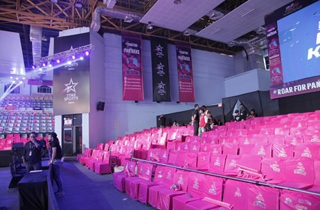GS Worldwide Ent. Creates Jaipur Pink Panthers Home Games Setup for 4th Time in a Row