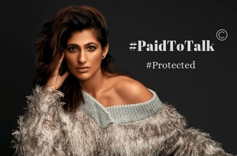 Kubbra Sait's #PaidToTalk - An IP Now Protected!