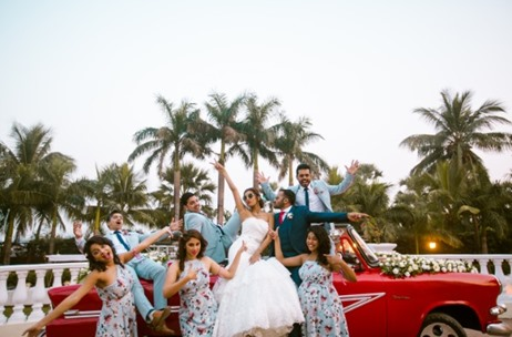 VJ Gaelyn Ties Knot With Beau in Mumbai; The Photo Diary Captures Every Moment!