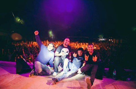 Alt-electro Rock Band Pentagram Made A Comeback with Bacardi NH7 Weekender Pune