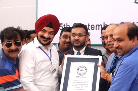 Impact Communications Helps Dabur India Create Guinness World Record