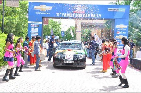 16th Annual Family Fun Car Rally Back with a Bang