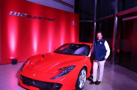 Ferrari 812 Superfast Launch Managed By The Think Tank Entertainment