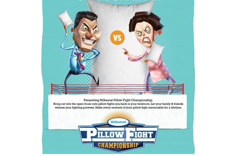 Nilkamal to Organize a First-Ever 'Pillow Fight Championship' in India