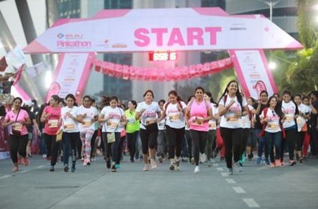 8th Edition of Pinkathon Mumbai 2019 Concluded Successfully with Over 10000 Women Participants!