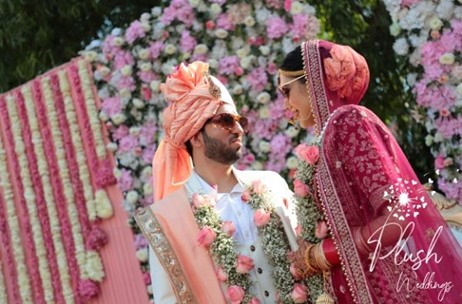 Plush Weddings Plans & Executes a Beautiful Wedding at The Palms Country Club, Gurgaon