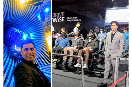 Ankur Kalra Shares a Low-Down of Experiential Innovations at the Auto Expo 2018