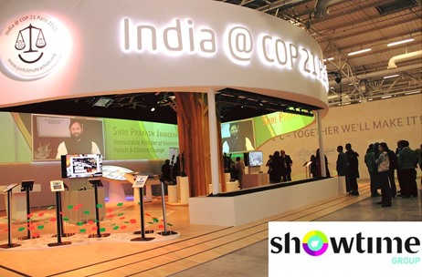 Showtime Bags Mandate to Design India Pavilion at Climate Change Summit '16 in Marrakech