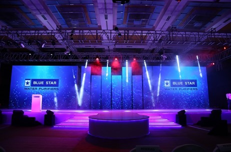 3D Mapping, Installations, Aerial Hoop & More: Fountainhead Manages Blue Star Water Purifier Launch