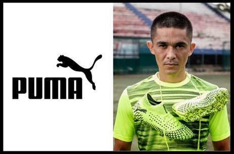 Puma Signs Indian National Football Captain Sunil Chhetri as their Brand Ambassador