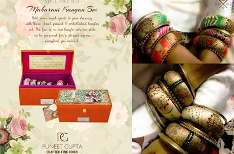 Handcrafted Couture Trunks, Travel Pouches & More Unique Gifting Solutions By Puneet Gupta!