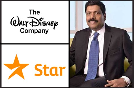 K Madhavan Appointed India President of The Walt Disney Company and Star