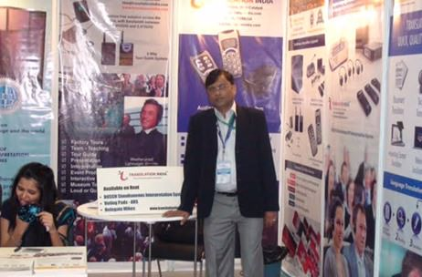 Translation India Showcases Simultaneous Interpretation Solutions at Expo in Delhi
