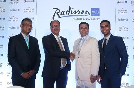 Carlson Rezidor Hotel Group Hill Crest Resort Announce Radisson Blu Karjat S Operations India News Updates On Eventfaqs