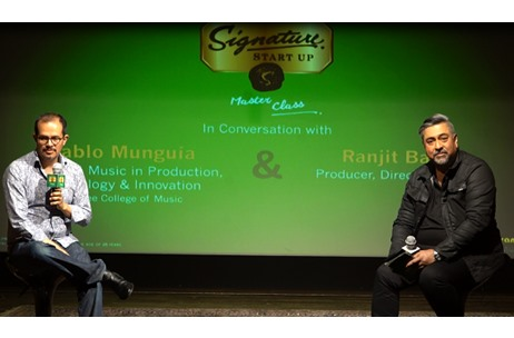 Signature StartUp Masterclass with Pablo Munguía Presented by Oranjuice Entertainment