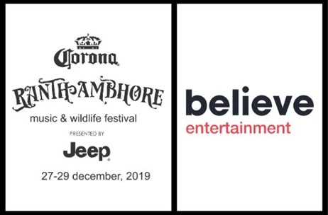 Believe Entertainment Produces & Promotes the Ranthambhore Music & Wildlife Festival 2019