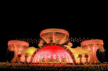 A Gorgeous 3-day Wedding Extravaganza Planned & Executed by Prasang Events and Entertainment